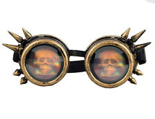 Hot Skull Goggles Steampunk Glasses Vintage Retro Welding Punk Gothic Victorian