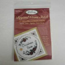 The Victoria Sampler Beyond Cross Stitch Spider Web Rose Learning Collection Kit