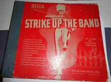 "RARE Decca Strike Up The Band Album #156 6 Jacket 10"" ALBUM COVER ONLY No VINYL"