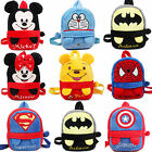 Toddlers Kids Children Boys Girls Cartoon Plush Backpack School Bag Kindergarten