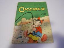 CUCCIOLO N.24 ORIGINALE 4° ANNO ED. ALPE 1955