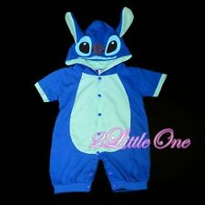 Stitch Baby Boy Romper Fancy Halloween Party Costume Outfit Size 6m-9m FC026
