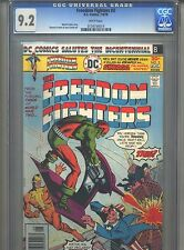 Freedom Fighters #3 CGC 9.2 (1976) White Pages