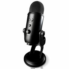 BRAND NEW Blue Yeti USB Microphone Blackout Edition + EXTENDED WARRANTY
