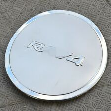 Stainless Steel Chrome Fuel Oil Tank Cap Cover Trim For Toyota RAV4 2013-2016