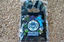 Hong Kong Disney LE 300 Trading Pin - Pixar Monsters University Opening - 96957