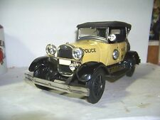 Rare Jim Beam Yellow 1929 Ford Model A Police Car Decanter