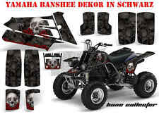 AMR RACING DEKOR GRAPHIC KIT ATV YAMAHA BANSHEE YFZ 350 BONE COLLECTOR B