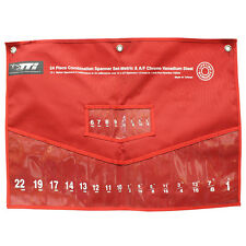 TTI SPANNER SET POUCH Robust & Durable RED, Suits CSS24 Model, Metric & AF