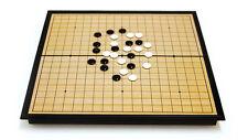 Baduk Go WeiQi Magnetic Board Game Baduk Piece stones Foldable Portable