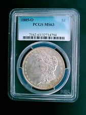 1885-O  MORGAN SILVER DOLLAR PCGS MS-63 131 YEARS OLD / PART OF U.S. HISTORY
