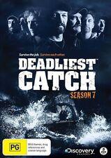 Deadliest Catch : Season 7 (DVD, 2011, 5-Disc Set) New DVD Region 4 Sealed