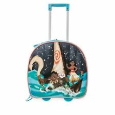 New Disney Store Moana Light-Up Childrens Trolley Case Suitcase With Handle