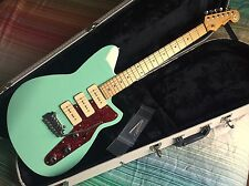 Reverend Jetstream 390 Oceanside Green Electric Guitar Inc OHSC
