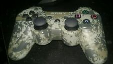 "GENUINE Sony PlayStation 3, PS3 DualShock SIXAXIS Controller ""URBAN CAMOUFLAGE"""