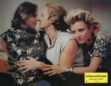 ORNELLA MUTI HANNA SCHYGULLA IL FUTURO E DONNA 1984 VINTAGE LOBBY CARD #12