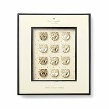 KATE SPADE - Push Pins - Set of 12 - Owls