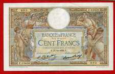 (Ref: Z.234 )  100 FRANCS LUC OLIVIER MERSON 27/11/1928  (SUP)