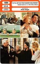FICHE CINEMA : Y A-T-IL UN FLIC POUR SAUVER HOLLYWOOD ? Nielsen,Presley 1994