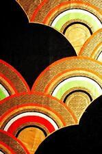 """*Obi-2A* Vintage Japanese Silk Kimono Obi Fabric (20.1"""")"""
