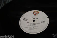 A-HA TRAIN OF  THOUGHT 12' UK EDITION  SINGLE 1987  FIRST PRESS EX/EX+