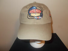 VTG-2001 Final Four Minneapolis MN khaki Duke Mich St AZ strapback hat sku10