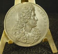 Médaille grès XIX écrivain et dramaturge Jean-François Regnard 41mm Dubois Medal