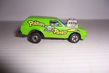 HOT WHEELS 1975 MATTEL HONG KONG GREEN POISON PINTO