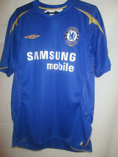 Chelsea 2005-2006 Home Centenary Football Shirt Size Medium /24458