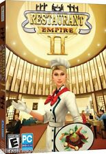 RESTAURANT EMPIRE II 2 for PC SEALED NEW
