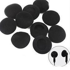 New 24Pcs Soft Black Sponge Foam for Headphones Earphones Cover Ear Pad Good
