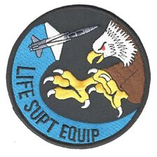 USAF Air Force Patch:   80th Operations Support Squadron Life Support Equipment