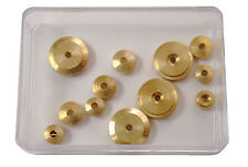 12pc. New Hermle Clock Movement Hand Nut Assortment Parts (HW-49)