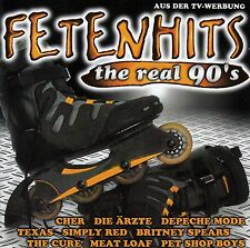 FETENHITS - THE REAL 90'S / 2 CD-SET - TOP-ZUSTAND