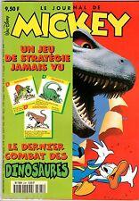 LE JOURNAL DE MICKEY n°2361 ¤ 1997 ¤ AVEC CADEAU LE JEU DES DINOSAURES