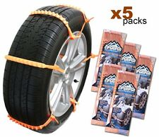 Zip Grip Go Emergency Tire Traction Aid Snow Chain Alternative Bulk (5 packs)