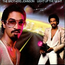 THE BROTHERS JOHNSON Light Up The Night 1980 UK vinyl LP EXCELLENT CONDITION