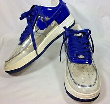 Nike Air Airforce 1 AF-1 '82 Running Shoes Sneakers Blue Clear Mens US 10.5
