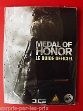 MEDAL of HONOR GUIDE STRATEGIC Official For PS3, XBOX360 et PC NEW