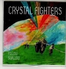 (CM636) Crystal Fighters, Follow / Swallow - 2010 DJ CD