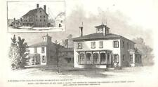 Residence of James G. Blaine, Candidate for President of the U. S.   -  1884