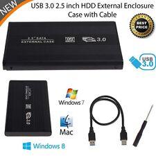 USB 3.0 Durable HDD disque dur Boîtier externe 2,5 pouces SATA HDD Box Case EH