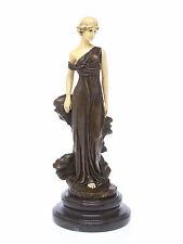 Bronze Skulptur nach Ferdinand Preiss Iphigenia Göttin der Sühne art deco style