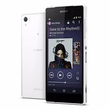 "Sony Xperia Z2 D6503 White 16GB GSM Factory Unlocked 5.2"" Android Smartphone"