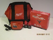 "Milwaukee 2403-22 M12 FUEL 12V  Lith-Ion 1/2"" Driver/Drill Kit-MODIFIED-NEW FSHP"
