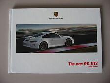 PORSCHE 911 991 GT3 SALES BROCHURE 2013 - 2014 USA EDITION RARE