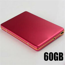 "Mobile Hard Disk 2.5"" External Hard Drive 5400rpm Portable Laptop HDD red 60GB"