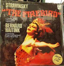 "Philips 6500 483 Stravinsky/Haitink ""The Firebird"" London NM/NM"