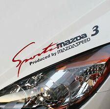 Headlight Sticker Sports Mind Decal Vinyl Car Stickers for Mazda 3 Exterior Acce