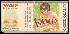 Philippines VAMP Cigarette Label